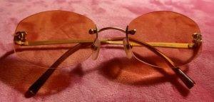 Chanel Vierkante bril veelkleurig