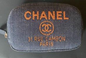 Chanel Schminktasche aus Denim- neu