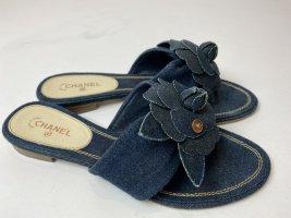 Chanel Schuhe Jeans Gr. 39