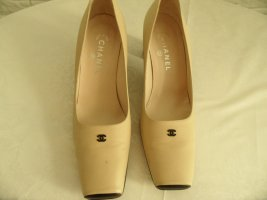 Chanel Pumps gold-colored-black