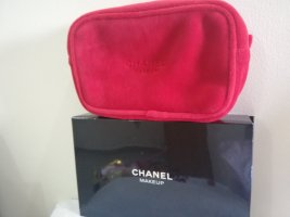 Chanel Sexy Velvet Red Pouch