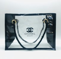 Chanel Shopper black