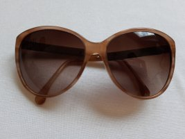 Chanel Butterfly Glasses cognac-coloured