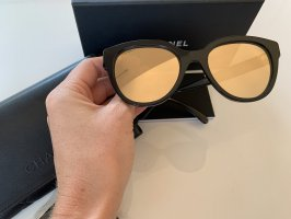 Chanel Butterfly Glasses black-gold-colored