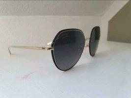 Chanel Butterfly bril zwart-goud