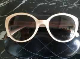 Chanel Bril licht beige Acetaat