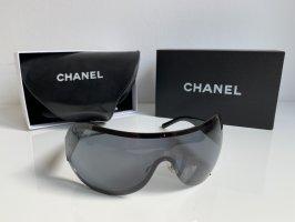 Chanel Round Sunglasses black-silver-colored