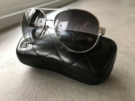 Chanel Aviator Glasses white-black