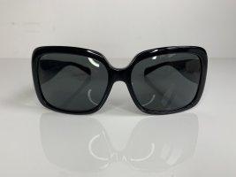 Chanel Lunettes de soleil angulaires noir-argenté