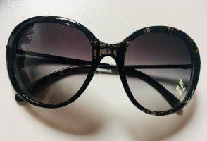 Chanel Occhiale a farfalla nero-viola-grigio