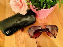 Chanel Lunettes aviateur brun