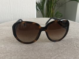 Chanel Round Sunglasses brown-blue