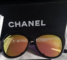 Chanel Okulary motylki Wielokolorowy Włókno octanowe