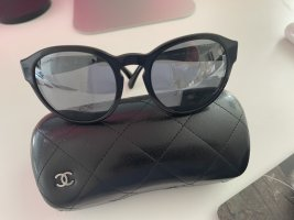 Chanel Okulary motylki czarny
