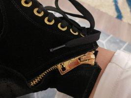 Chanel Bottines à fermeture éclair noir