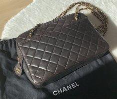 Chanel Crossbody bag dark brown