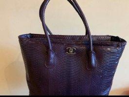 Chanel Handtas donkerpaars