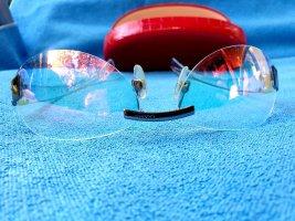 CHANEL transparente Sonnenbrille