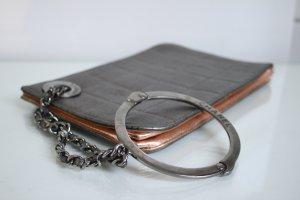 Chanel Clutch zilver-goud