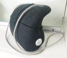 """* CHANEL * VINTAGE RARITÄT """"MILLENIUM 2005"""" Tasche limited Edition hardcase filz grau futuristisch"""