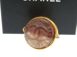 Chanel Boucle d'oreille doré