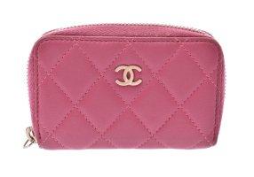 Chanel Cartera rosa Cuero