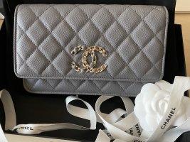 Chanel Borsetta mini grigio