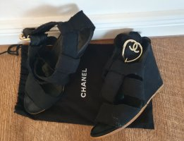 chanel wedge Keilsandalen
