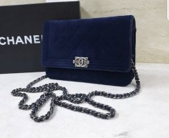 Chanel Borsa clutch blu scuro