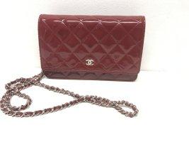 Chanel Schoudertas rood Leer
