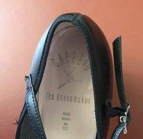 Chaussures Mary Jane noir tissu mixte