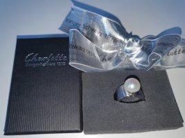 Charlotte Anello di fidanzamento bianco-argento Metallo