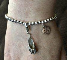 Charm Anhänger Schuh Flip Flop Sandale Silber Juwelier