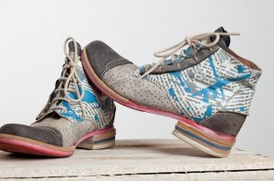 Charme Desert Boots multicolored leather