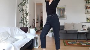 Cheap Monday High Wasted Mom Jeans