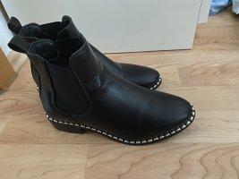 Park Lane Chelsea laarzen zwart-zilver