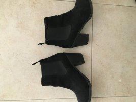 Chelsea Boots Veloursleder Größe 37