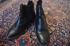 H&M Divided Chelsea Boots black imitation leather
