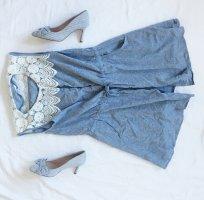 Cherry Koko Summer Dress white-azure