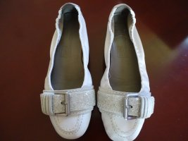 Kennel + schmenger Mary Jane Ballerinas white-silver-colored leather