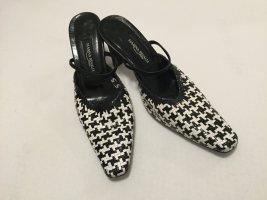 Marina Rinaldi Heel Pantolettes black leather