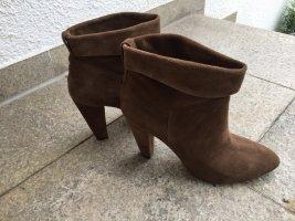 Another A Slip-on laarzen lichtbruin-zandig bruin Suede