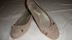 Marco Tozzi Mary Jane Ballerinas sand brown suede