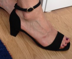 Chie Mihara Strapped Sandals black leather