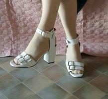 Chie Mihara Riemchen-High Heel Sandalette Gr. 37 *Neu*