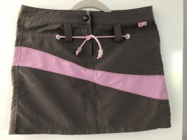 Chiemsee Miniskirt pink-dark grey