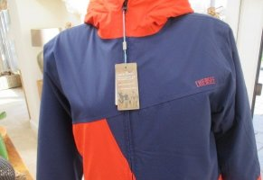 Chiemsee Jacket neon orange-blue