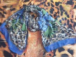 Pashmina bronze-bleu