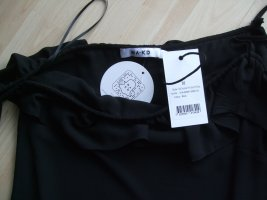 NA-KD Robe asymétrique noir