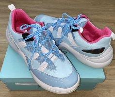 CHILLEGS - Sneaker - super Blauton!- Super leicht! Turnschuh hellblau